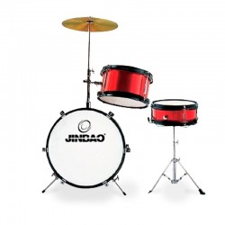 Jinbao Drumset Small 1044 Red Wine