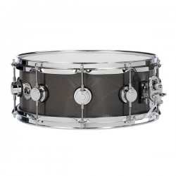 DW Collector Steel Chrome Black Nickel 14x5.5""
