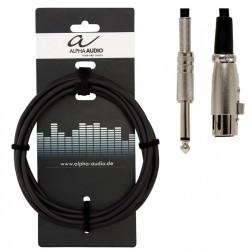 Alpha Audio Cable Micro Jack XLR 3 Metros