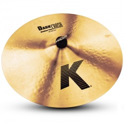 "Zildjian Crash 18"" K Dark Medium Thin"