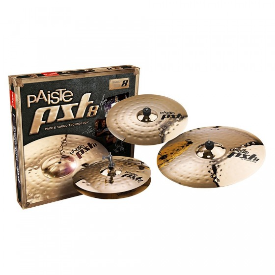 PAISTE PST8 Universal Set + Crash 18