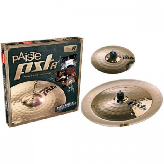 PAISTE Set Platos PST8 Effect