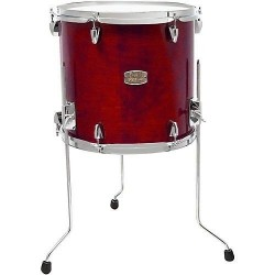 "Yamaha Stage Custom Birch Floor Tom 16x15"" Cranberry Red"