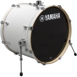 "Yamaha Stage Custom Birch Bombo 20x17"" Pure White"