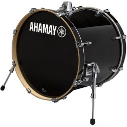 "Yamaha Stage Custom Birch Bombo 20x17"" Raven Black"