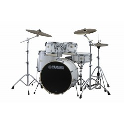 YAMAHA Stage Custom Birch Standard Pure White + HW680W