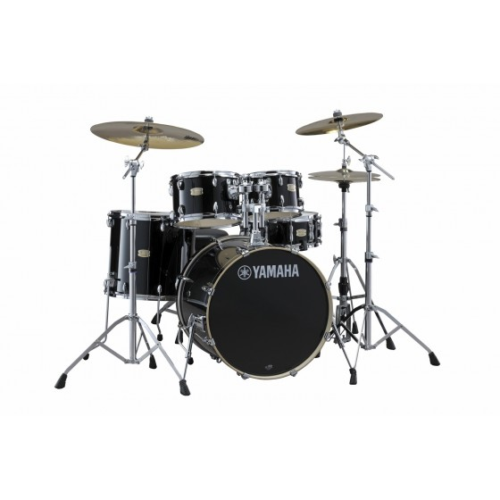 YAMAHA Stage Custom Birch Standard Raven Black + HW780