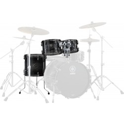 Yamaha Live Custom Set Toms Black Shadow