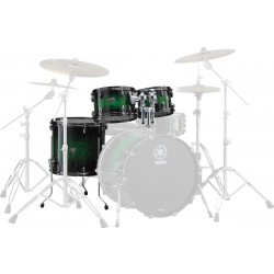 Yamaha Live Custom Set Toms Emerald Shadow