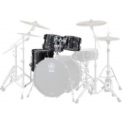 Yamaha Live Custom Set Toms 2 Black Wood