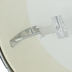DB Snare Drum Small 10x04 White