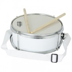 DB Snare Drum Small 12x05 White