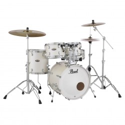 Pearl Decade Maple Studio White Satin Pearl