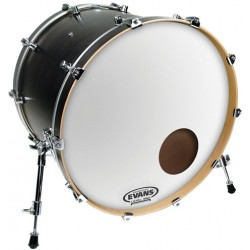 "Evans 20"" EQ3 Reso Smoth White BD20RSW"