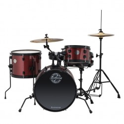 Ludwig LC178X Pocket Kit Rojo Wine