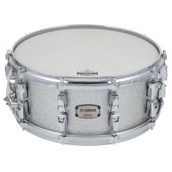 """Yamaha Absolute Hybrid Snare Drum 14x06"""" Silver Sparkle"""