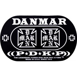 Danmar 210DKIC Refuerzo Bombo Doble Iron Cross