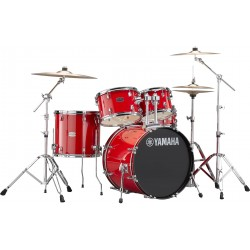 Yamaha Rydeen Standard Hot Red + Set Cymbals Paiste