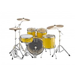 Yamaha Rydeen Studio Mellow Yellow + Set Platos Paiste
