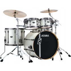 Tama ML42HLZBNS-SAP Superstar HyperDrive Standard Satin Artic Pearl