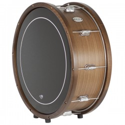 Santafé STF2631 Marching Bass Drum 55x22 cms Walnut