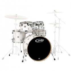 PDP by DW Concept Maple CM5 Standard Pearlescent White