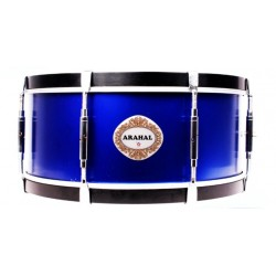 "NP Snare Drum Arahal 15"" Blue"