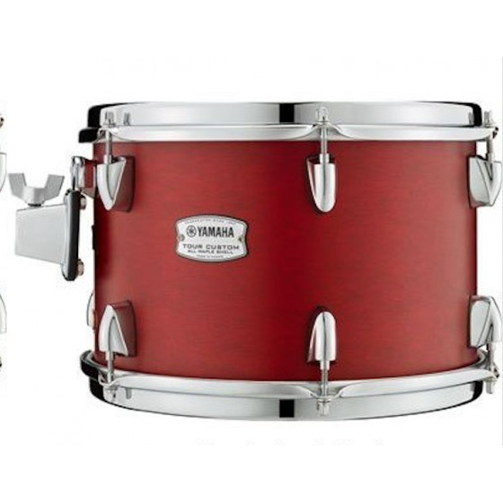Yamaha tour custom floor tom 14x13 candy apple satin for 13 floor tom