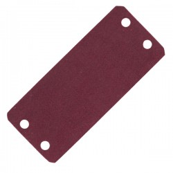 Gonalca Apagador Fieltro para Snare Drum Wood Block Red