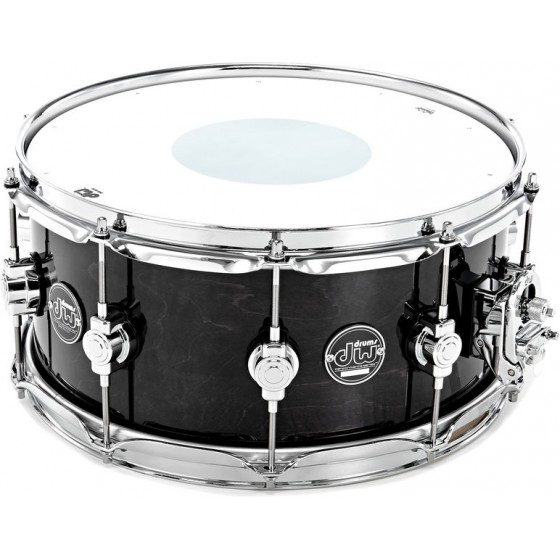 DW Performance Ebony Stain 14x6.5""