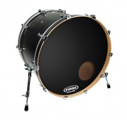 "Evans 20"" Onyx Resonante Bass Drum BD20RONX"