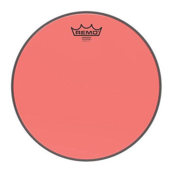 Remo 12 Emperor Colortone Red BE-0312-CT-RD