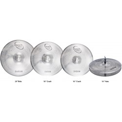 Sabian Set Platos Quiet Tone Practice Set QTPC504