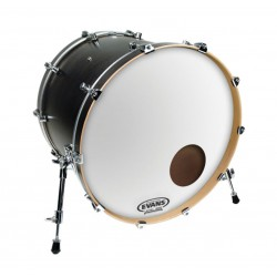 "Evans 22"" EQ3 Coated White BD22RGCW"
