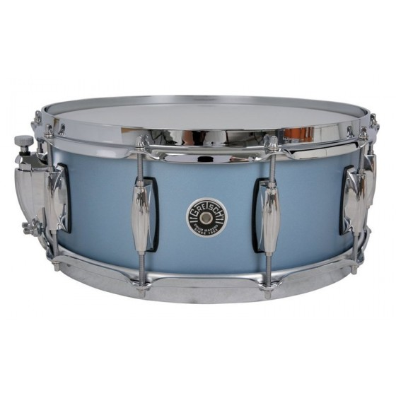 Gretsch 14x5 Brooklyn Ice Blue Metallic