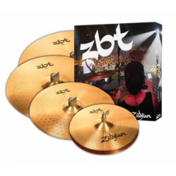 Zildjian Set Platos ZBT + Crash 18""
