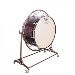 NP Bass Drum Concert Cover Chrome 90x50 cms
