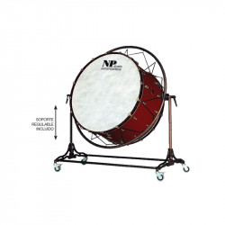 NP Bass Drum Concert Cover Old 100x50 cms Cereza