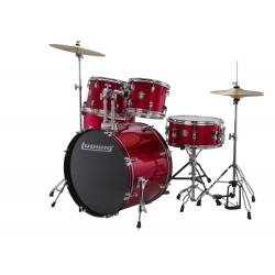Ludwig Drumset Accent Drive LC175 Red