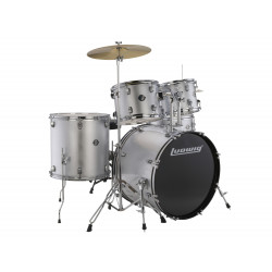 Ludwig Drumset Accent Drive LC175 Silver