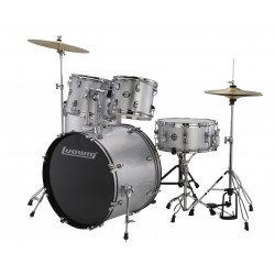 Ludwig Drumset Accent Fuse LC170 Silver