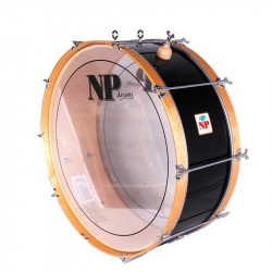 NP Bass Drum 60x25 cms Black