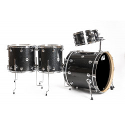 DW Collector Maple Rock Finish Ply Black Ice