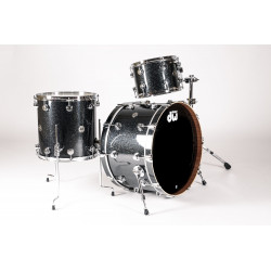 DW Comtemporary Classic Rock Finish Ply Black Ice