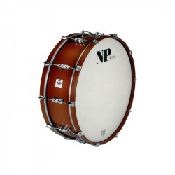 NP Marching Bass Drum 66x14 Chrome Walnut