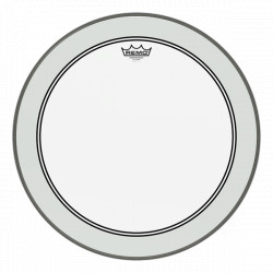 "Remo 12"" Powerstroke 3 Clear P3-0312-BP"