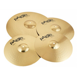 Paiste Set Platos 101 Brass Universal + Crash 14