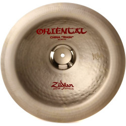 "Zildjian China 16"" Oriental Trash"