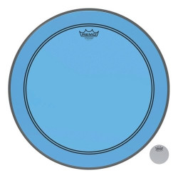 "Remo 24"" Powerstroke 3 Colortone Blue P3-1324-CT-BU"