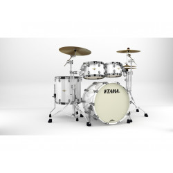 Tama Starclassic Maple Standard Piano White (Black Nickel)